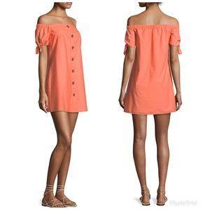 Amanda Uprichard Bryant Off-Shoulder Dress